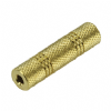 Gold Plated 3.5mm Jack Female Coupler (Stereo)